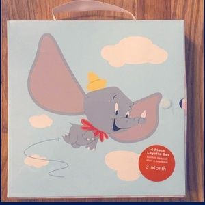 NWT Dumbo Layette by Disney - 0-3 months